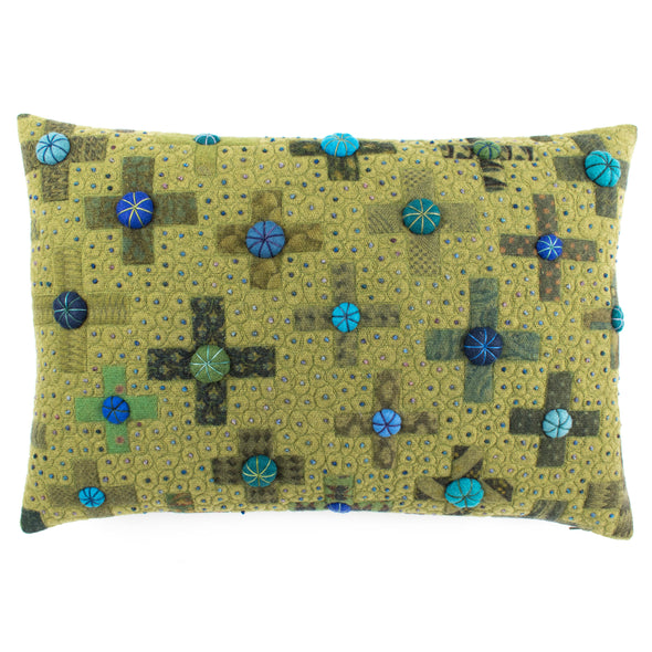 Fancier Tie Prints Cushion • 15x22 F