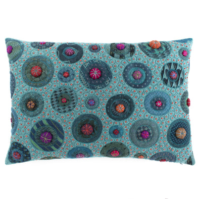 Fancier Tie Prints Cushion • 15x22 G
