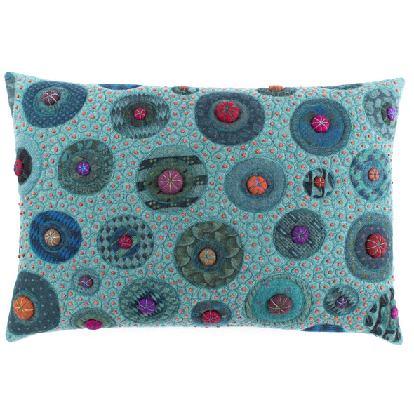 Fancier Tie Prints Cushion • 15x22 H