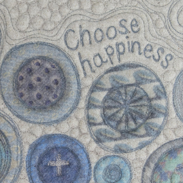 "Wall Art • 9""x 12"" • Choose Happiness"