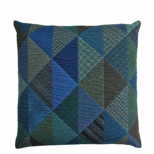 Half + Half - The Deep End • Cottage Cushion