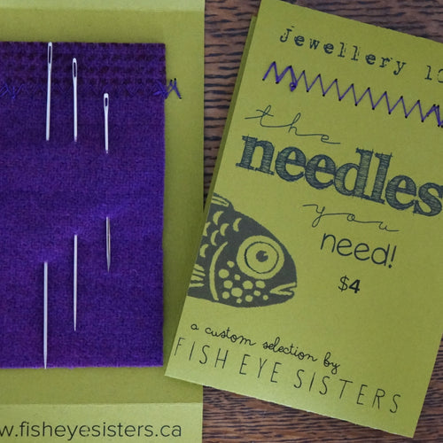 Needles You Want, Needles You Need ~ Jewellery 101