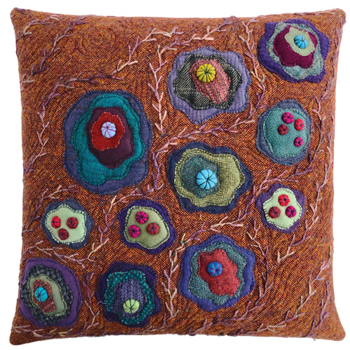 Pilot Fancy Stitches Cushion • 20x20  (S-I)