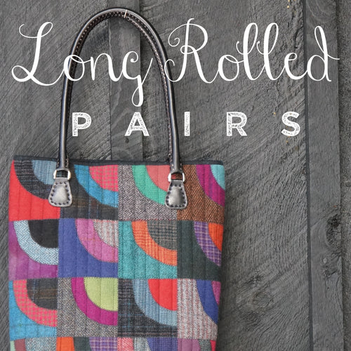 Long Rolled Pairs ~ Leather Handles
