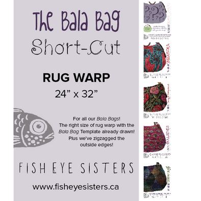 Short-Cut ~ Rug Warp ~ The Bala Bag