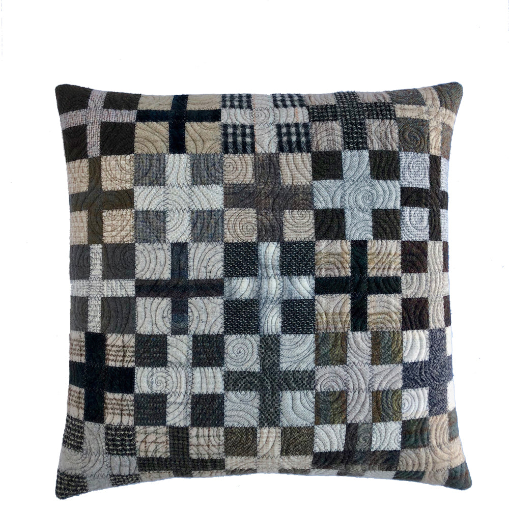 Shoreacres Road Cushion • 20x20 (C-XI)
