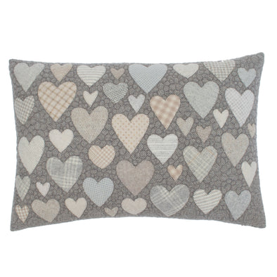 Hearts = Love + Summit Drive Cushion • 15x22 A