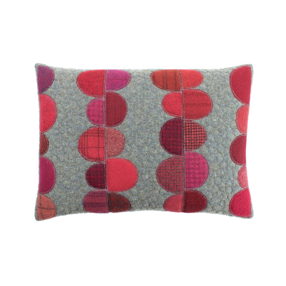 Wool Appliqué Cushion • 13x18 C