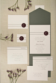 Birchcraft Studios Wedding Invitations Promises West