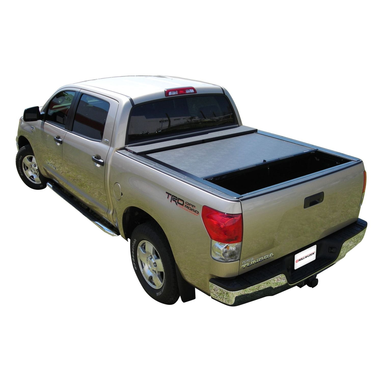 Roll-N-Lock LG570M Locking Retractable M-Series Truck Bed Tonneau Cover for 2007-2020 Toyota Tundra CrewMax | Fits 5.6 Ft. Bed