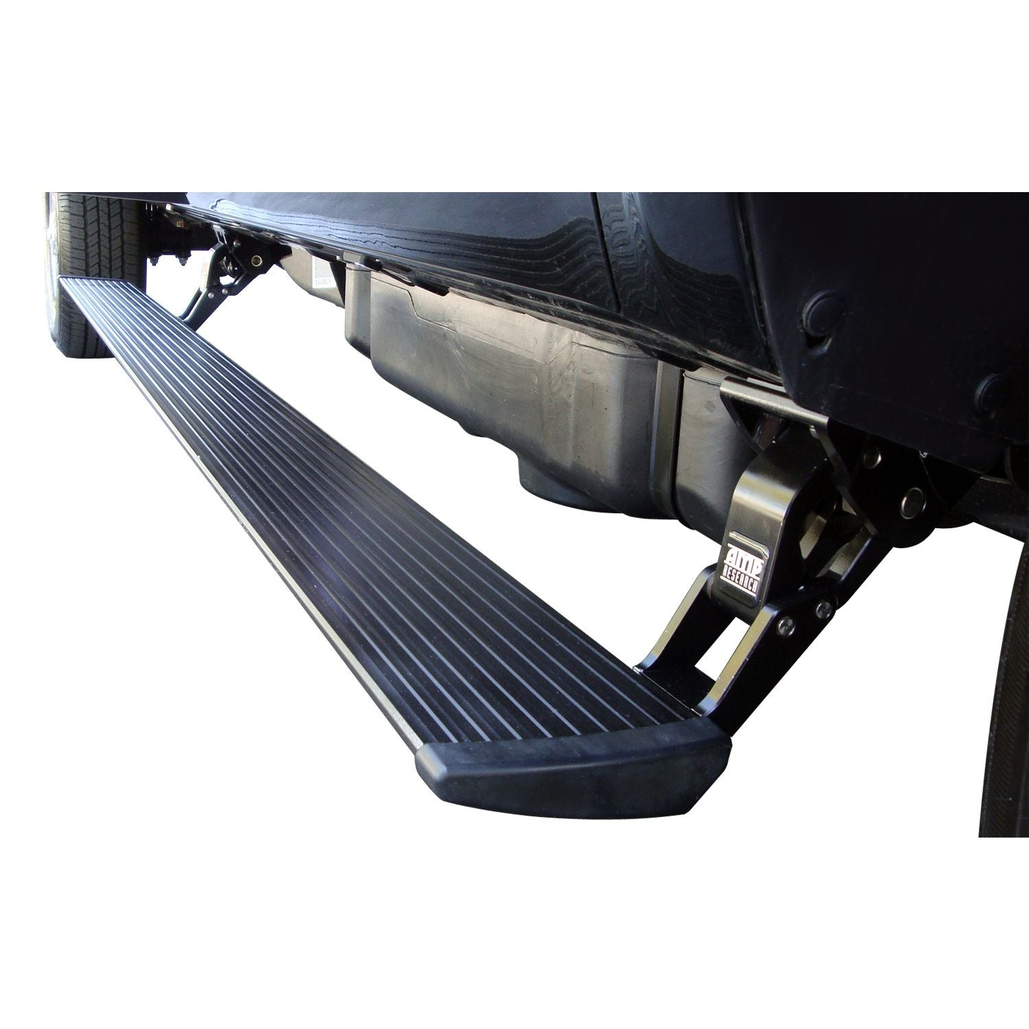 AMP Research PowerStep Electric Running Boards for 2011-2014 Chevrolet Silverado/GMC Sierra 2500/3500 Diesel Only Extended/Crew Cab - 75146-01A