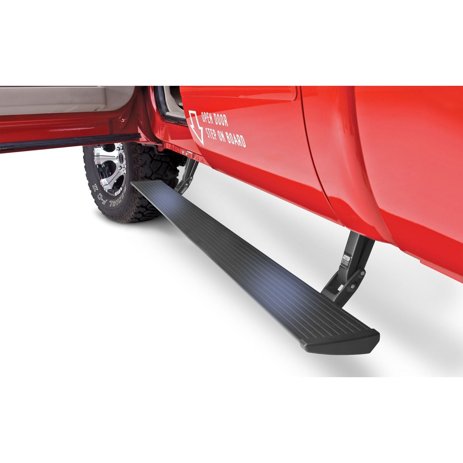 AMP Research PowerStep Electric Running Boards Plug N Play System for 2008-2016 Ford F-250/F-350/F-450 All Cabs - 76134-01A