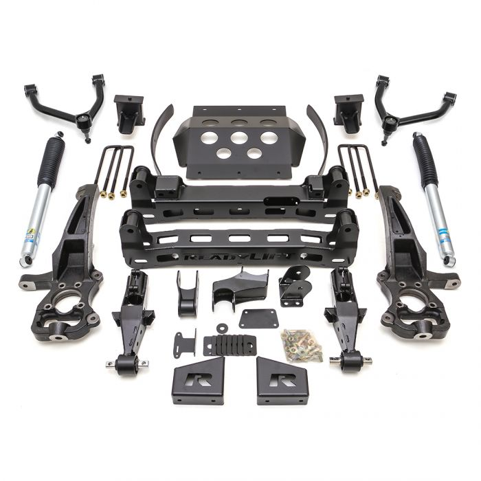 ReadyLift - 8'' Big Lift Kit with Upper Control Arms and rear Bilstein Shocks   -    1500