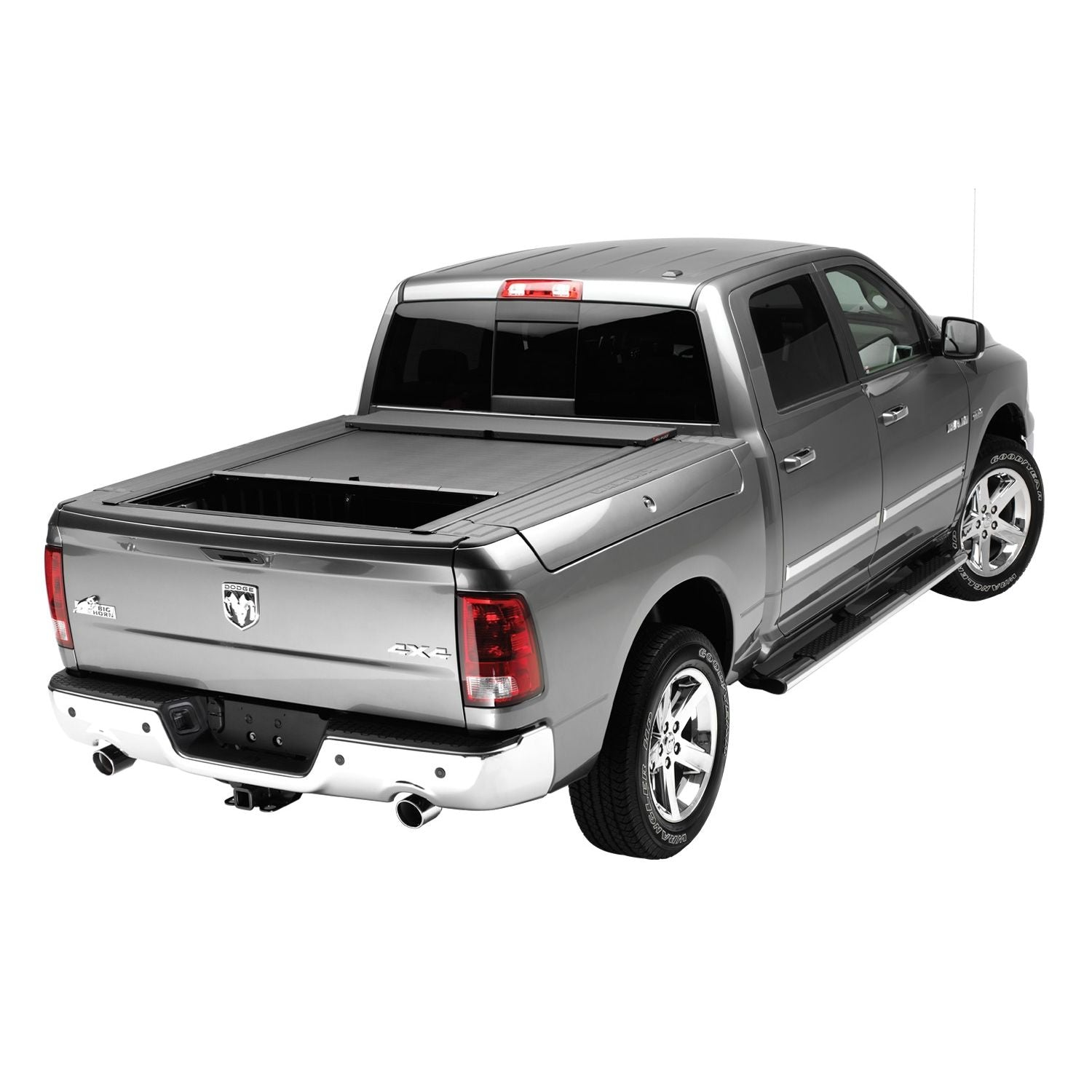 Roll-N-Lock LG446M Locking Retractable M-Series Truck Bed Tonneau Cover for 2009-2018 Dodge Ram 1500 w/RamBox | Fits 5.6 Ft. Bed
