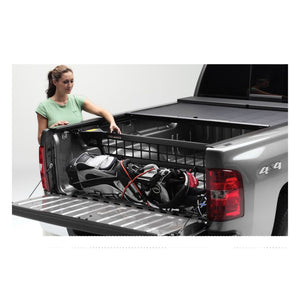Roll-N-Lock CM507 Cargo Manager Rolling Truck Bed Divider Works Only with Roll-N-Lock Covers for 2005-2015 Toyota Tacoma Double Cab | Fits 5 Ft. Bed