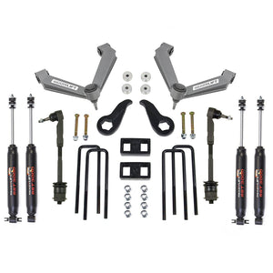 ReadyLift - 3.5'' SST Lift Kit Front with 1'' Rear with Fabricated Control Arms with SST3000 Shocks   -   2011-2019 GM Silverado / Sierra 2500HD