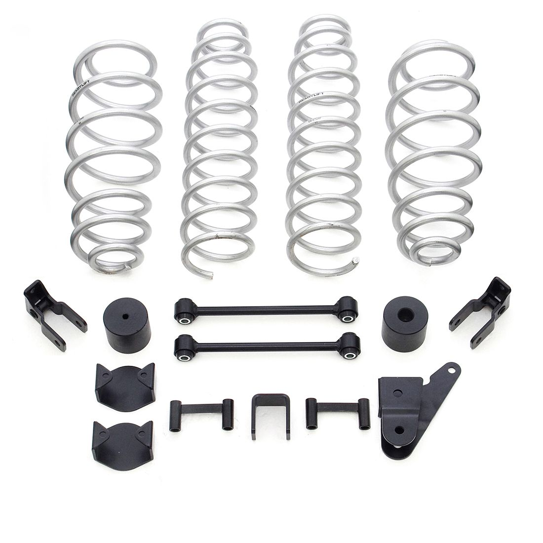 "ReadyLift - 2.5"" Coil Spring Lift Kit without Shocks   -   2007-2018 Jeep JK Wrangler 4WD"