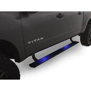 AMP Research PowerStep Electric Running Boards Plug N Play System for 2016-2017 Nissan Titan/Titan XD All Cabs - 76120-01A