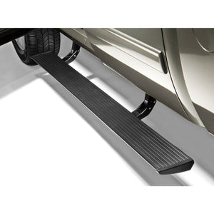 AMP Research PowerStep Electric Running Boards for 2007-2013 Chevrolet Silverado 1500/GMC Sierra 1500,   and 2007-2014 Chevrolet Silverado/GMC Sierra 2500/3500 (Excludes 2011-2014 Diesel Models) Extended/Crew Cab - 75126-01A