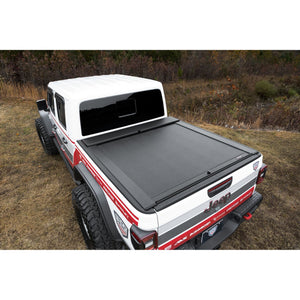 Roll-N-Lock LG496M Locking Retractable M-Series Truck Bed Tonneau Cover for 2020 Jeep Gladiator Without Trail Rail System| Fits 5 Ft. Bed