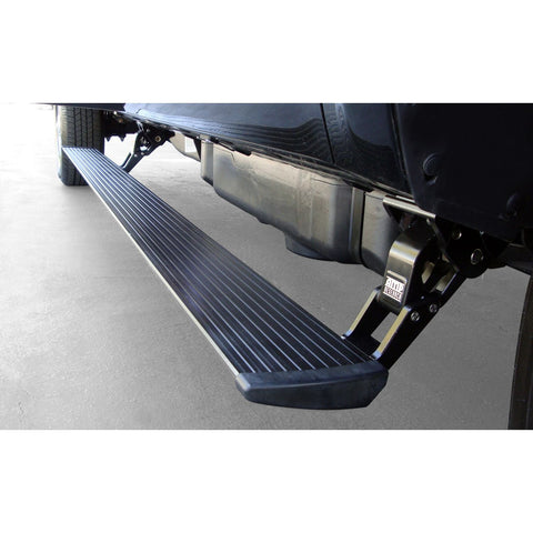 AMP Research PowerStep Electric Running Boards Plug N Play System for 2015-2016 Silverado/Sierra 2500/3500 Diesel Only Double and Crew Cab - 76147-01A