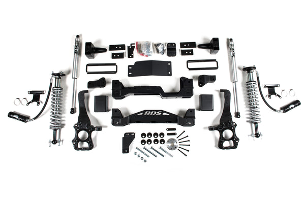 "BDS - 6"" Lift Kit with Coil Overs - F-150 Suspension"