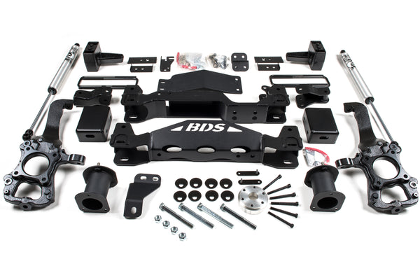 "BDS - 4"" Suspension Lift - 2015-2020 F-150"