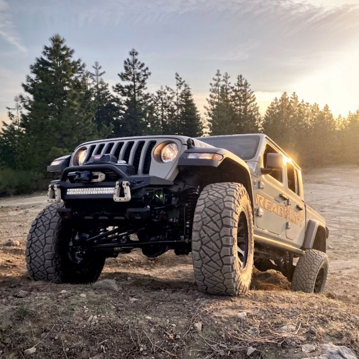 ReadyLift - 4'' Terrain Flex 4-Arm Kit with Falcon 2.1 Shocks (includes front track bar)   -   2020-2021 Jeep JT Gladiator