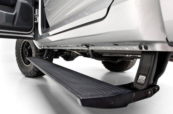 AMP Research PowerStep Electric Running Boards for 2016-2019 Nissan Titan/Titan XD All Cabs - 75120-01A
