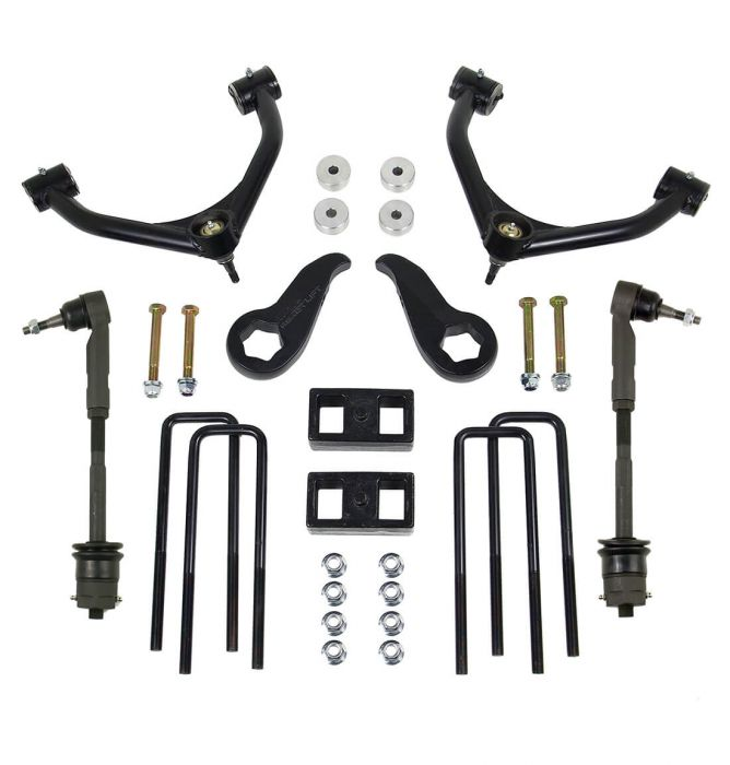 ReadyLift - 3.5'' SST Lift Kit Front with 2'' Rear with Upper Control Arms without Shocks   -   2011-2019 GM Silverado / Sierra 3500 HD SRW-Tow & DRW