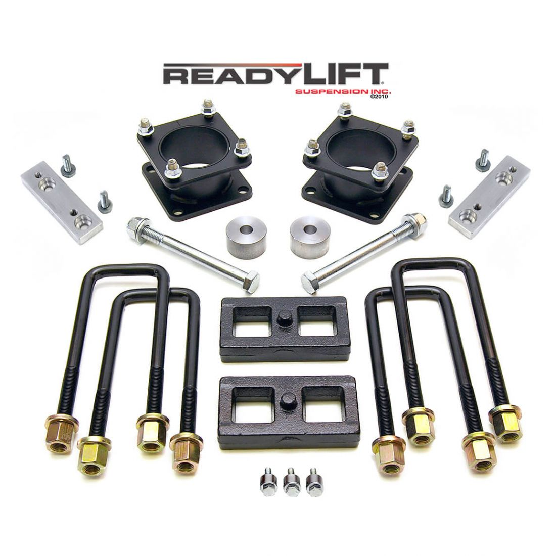 ReadyLift - 3.0'' SST Lift Kit Front with 1.0'' Rear without Shocks   -   2007-2021 Tundra