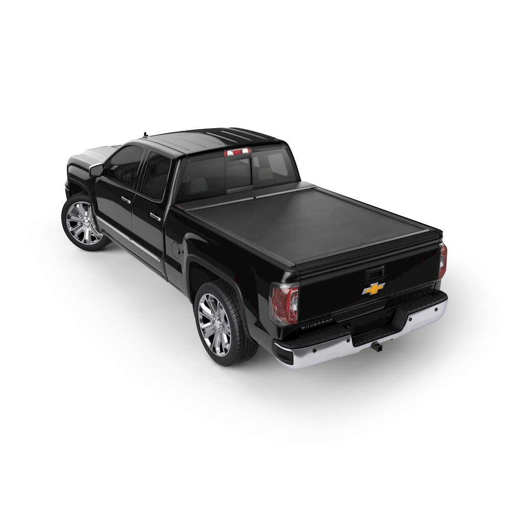 Roll-N-Lock LG220M Locking Retractable M-Series Truck Bed Tonneau Cover for 2014-2018 Silverado & Sierra 1500 2015-2019 Silverado & Sierra 2500-3500 | Fits 5.8 Ft. Bed
