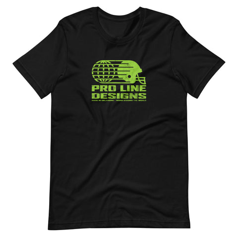 Pro Line Lime Green Print Short-Sleeve T-Shirt