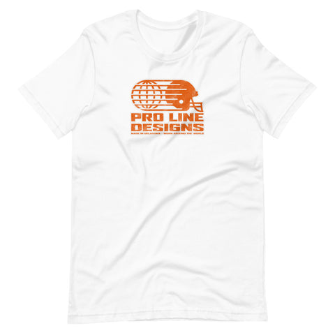 Pro Line Orange/White Print