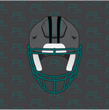 Football Helmet Stripes - Panther Stripes