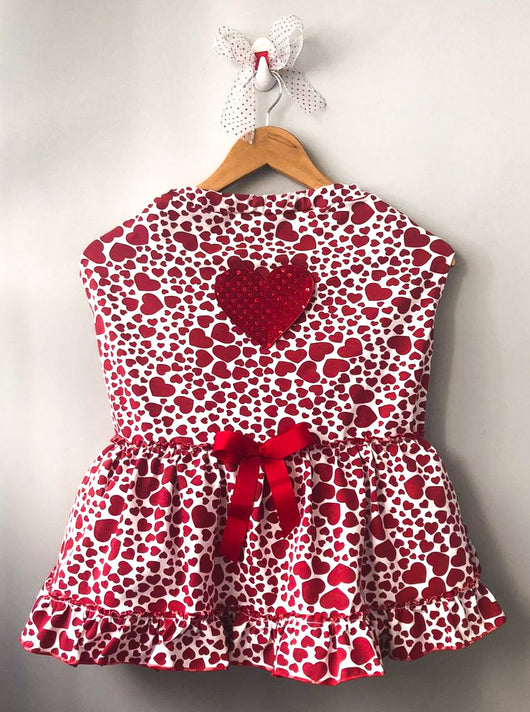 Hearts Dress. Choose your size.