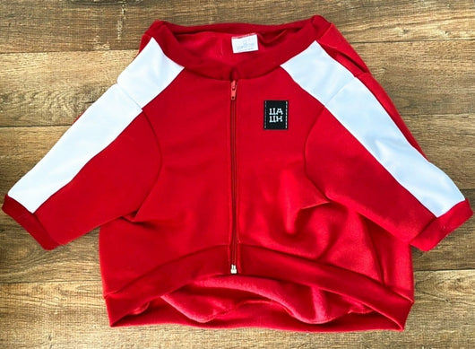 Track Jacket Red Color Uauhdogs. Choose your size.