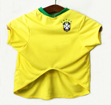 Custom Brazil Football Shirt  UAUH DOGS