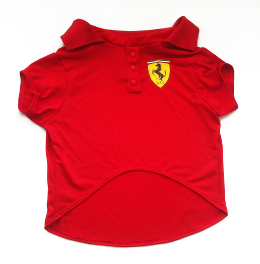 Polo Shirt Ferrari  UAUH DOGS
