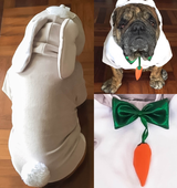 "Easter Bunny Costume ""With Pants"" for Pets"