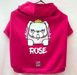 Custom Bulldogs Mascots Princess Pink Color