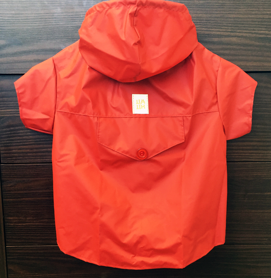 Raincoat Red Color. Choose your size.