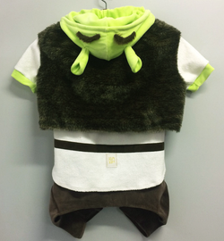 Costume Shrek for Pets