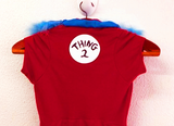Thing 2 Costume for Pets
