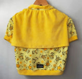 Cotton Sleepshirt Bear Prints in Yellow. Choose your size.