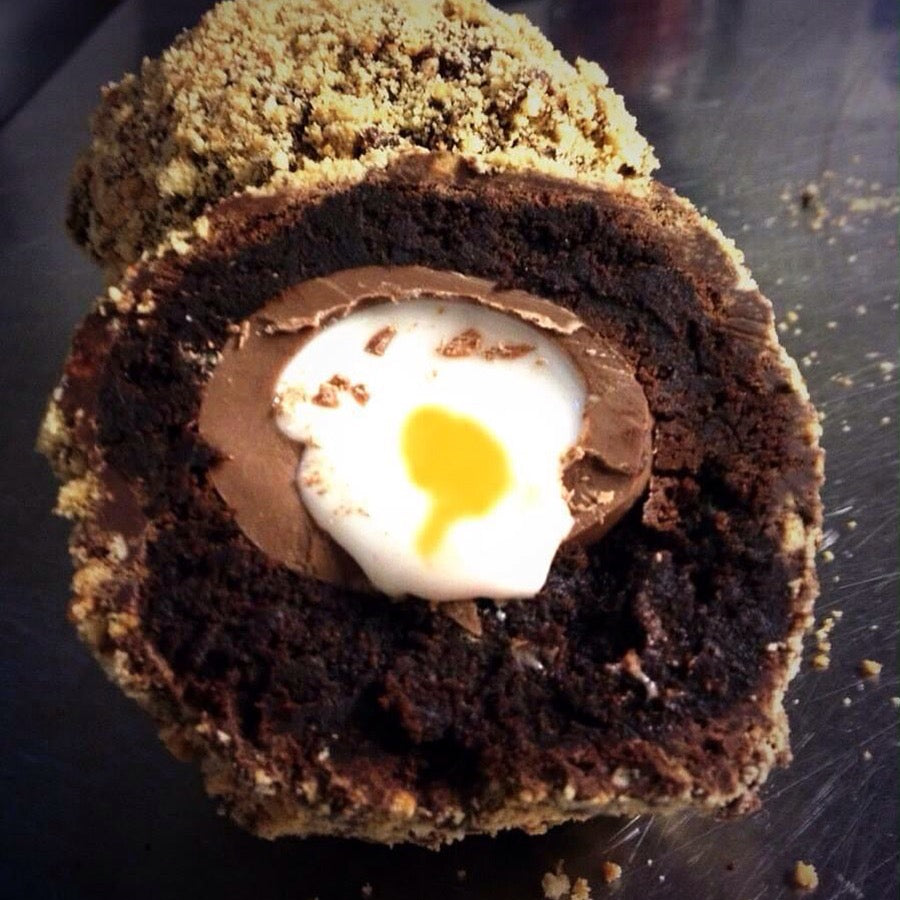 Brownie Heaven Scotch Creme Egg
