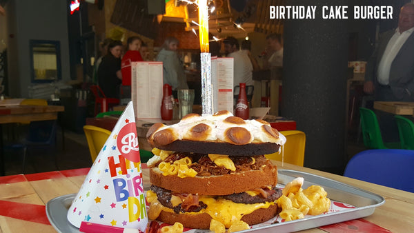 The Birthday Cake Burger
