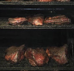 Smoker Full of Brisket
