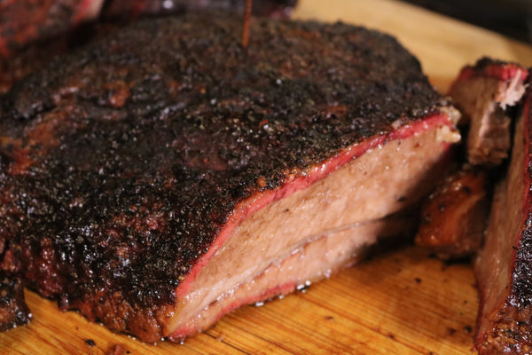 Brisket with bark
