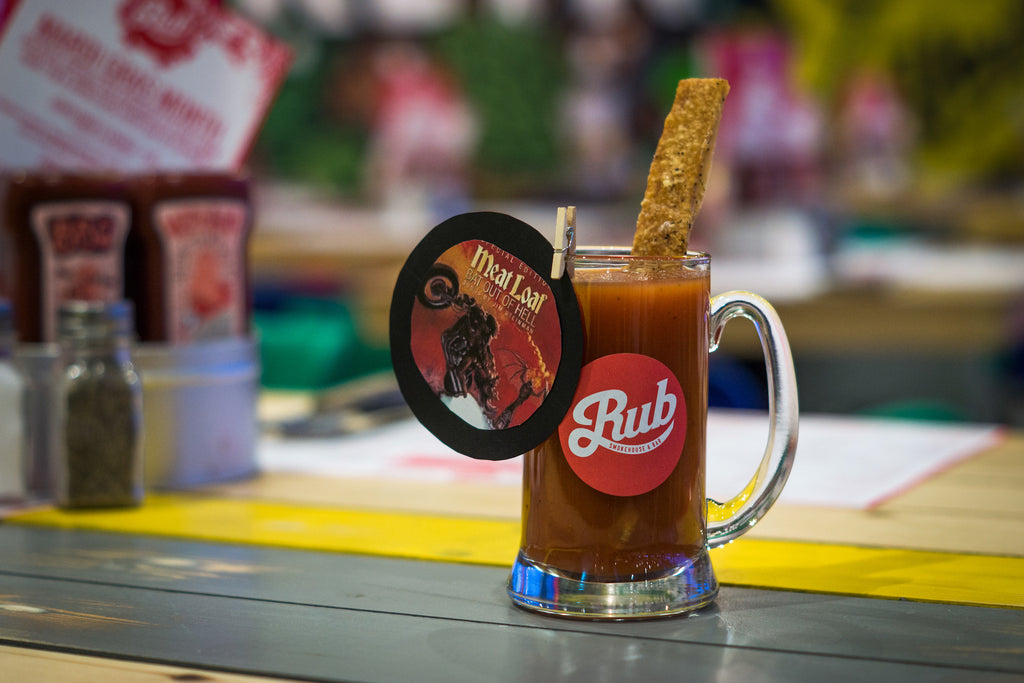 The Hog Outta Hell - Rub's Meatloaf Based Bloody Mary